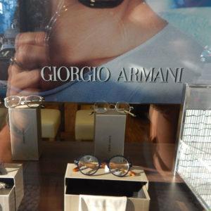 Brille Giorgio Armani bei Optiker Wittig in Berlin