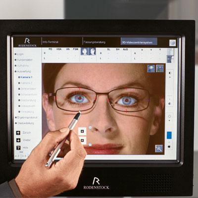 3D Augenvermessung bei Optiker Wittig in Berlin - direkt am Kaiserdamm